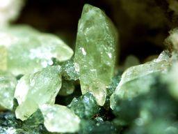 Pyroxen-Kristalle aus Nisyros