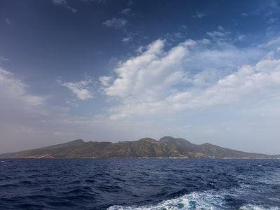 The volcano island Nisyros